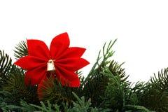 Weihnachtsrand Stockfotos