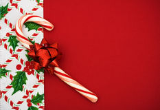 Weihnachtsrand Stockfoto