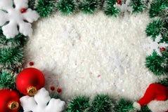 Weihnachtsrand Lizenzfreies Stockbild