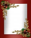 Weihnachtsrand elegant stock abbildung