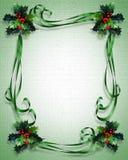 Weihnachtsrand-Feld-Abbildung stock abbildung