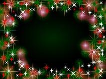 Weihnachtsrand-Hintergrund Stockbilder