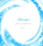 Weihnachtsrandkarte lizenzfreies stockbild