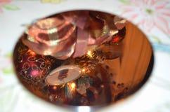 Weihnachtsreflexion Stockfoto