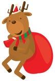 Weihnachtsren Stockfoto
