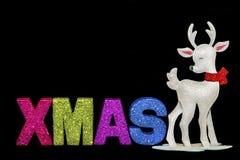 Weihnachtsren Stockfotografie