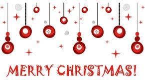 WeihnachtsRetro- Hintergrund Lizenzfreie Stockfotografie