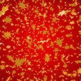 Weihnachtsrot Hintergrund Lizenzfreies Stockbild