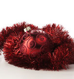 Weihnachtsrotflitter lizenzfreie stockfotos
