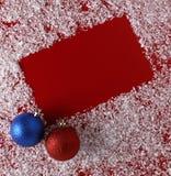 Weihnachtsrothintergrund Stockbild