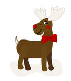 Weihnachtsrotwild Stockfotos