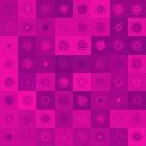 Weihnachtsrotwild, nahtlose Illustration. ENV 8 Lizenzfreies Stockbild