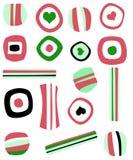 Weihnachtssüßigkeits-Illustration Lizenzfreies Stockfoto
