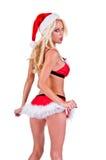 Weihnachtssankt-Helfer Stockbild