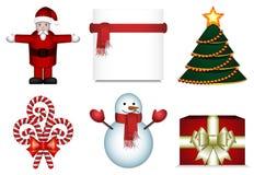 Weihnachtssatz stock abbildung
