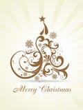 Weihnachtsschöner künstlerischer Hintergrund Lizenzfreie Stockfotos