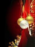 Weihnachtsschöner künstlerischer Hintergrund Lizenzfreie Stockfotografie