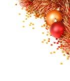 Weihnachtsschablone Stockbilder