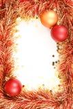 Weihnachtsschablone Lizenzfreies Stockfoto