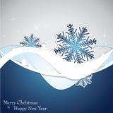Weihnachtsschablonen-Rahmendesign für Grußkarte stock abbildung