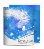Weihnachtsschablonenauslegungen Lizenzfreies Stockbild
