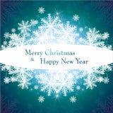 Weihnachtsschablonenrahmen Auch im corel abgehobenen Betrag vektor abbildung
