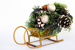 Weihnachtsschlitten Lizenzfreies Stockbild
