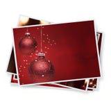 Weihnachtsschnappschüsse Stockbilder