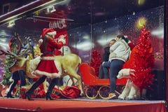 Weihnachtsschnappschuß Lizenzfreies Stockfoto