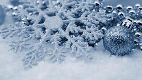 Weihnachtsschneeflocke Lizenzfreie Stockfotos