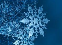 Weihnachtsschneeflocken Lizenzfreies Stockfoto