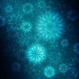 Weihnachtsschneeflocken Vektor Abbildung