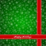 Weihnachtsschneeflocken-Designvektor Stockfoto
