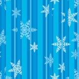 Weihnachtsschneeflocken festliches Pattern_02 Lizenzfreie Stockbilder