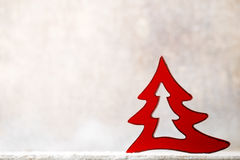 Weihnachtsschneeflocken, Hintergrund in der Weinleseart glückliches neues Jahr 2007 Lizenzfreies Stockbild