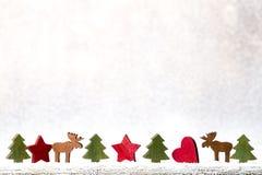 Weihnachtsschneeflocken, Hintergrund in der Weinleseart glückliches neues Jahr 2007 Lizenzfreie Stockfotos