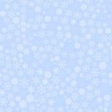 Weihnachtsschneeflocken-nahtloses Muster Stockbilder