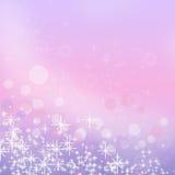 Weihnachtsschneeflockenhintergrund Lizenzfreie Stockfotografie