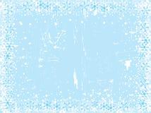 Weihnachtsschneeflockenhintergrund lizenzfreies stockbild