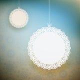 Weihnachtsschneeflockenhintergrund. ENV 10 Stockbilder
