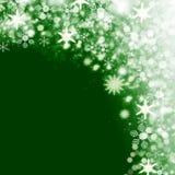 Weihnachtsschneehintergrund Stockbild
