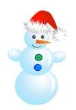 WeihnachtsSchneemann stock abbildung