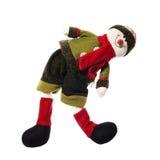 WeihnachtsSchneemann Stockfoto