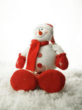 WeihnachtsSchneemann 2011 Stockfotos