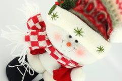 WeihnachtsSchneemann-Puppe Lizenzfreie Stockfotografie