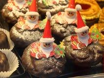 Weihnachtsschokoladen-Festlichkeiten stockfoto