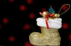 Weihnachtsschuh Lizenzfreie Stockbilder