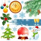 Weihnachtsset Stockfotos