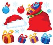 Weihnachtsset Stockfotografie