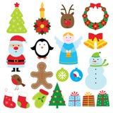 Weihnachtsset Stockfoto
